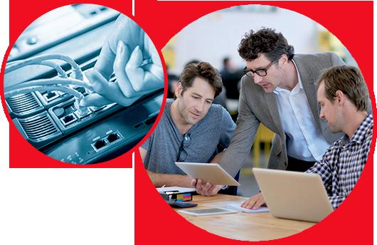 experts en sécurité informatique et infrastructure réseau